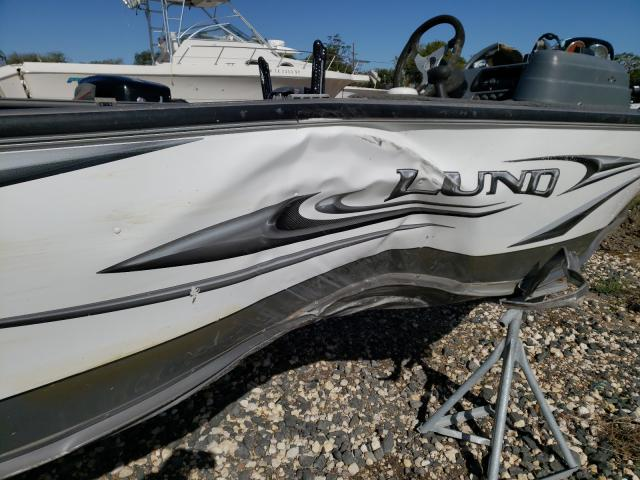 2010 LUND BOAT - Odometer View