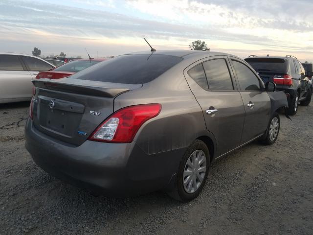 цена в сша 2014 Nissan Versa S 1.6L 3N1CN7AP1EK464047