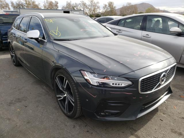 Salvage cars for sale from Copart Colton, CA: 2019 Volvo V90 T5 R-D