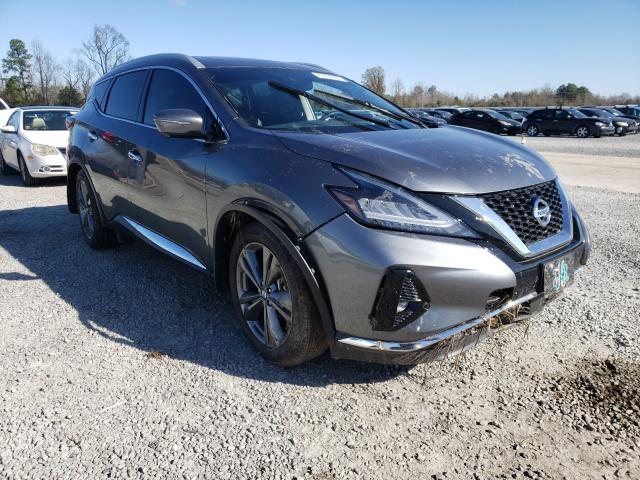 Salvage cars for sale at Lumberton, NC auction: 2019 Nissan Murano S