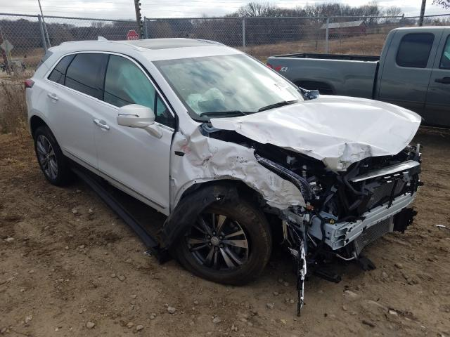 Salvage cars for sale from Copart Madison, WI: 2020 Cadillac XT5 Premium