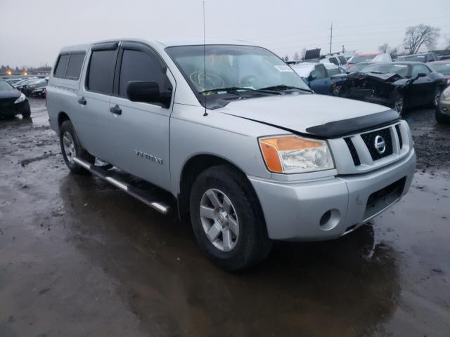 Salvage cars for sale from Copart Eugene, OR: 2008 Nissan Titan XE