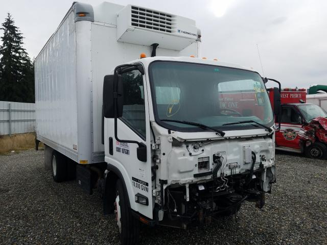 Salvage cars for sale from Copart Graham, WA: 2015 Isuzu NQR