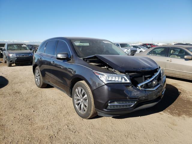 Vehiculos salvage en venta de Copart Brighton, CO: 2016 Acura MDX Techno