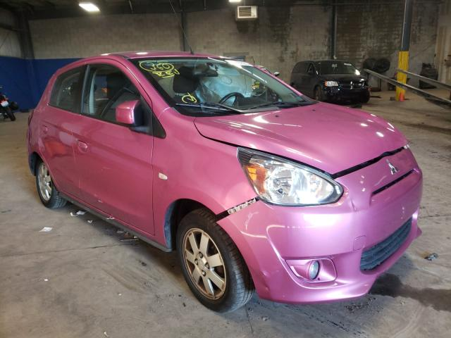 Salvage cars for sale from Copart Chalfont, PA: 2014 Mitsubishi Mirage ES