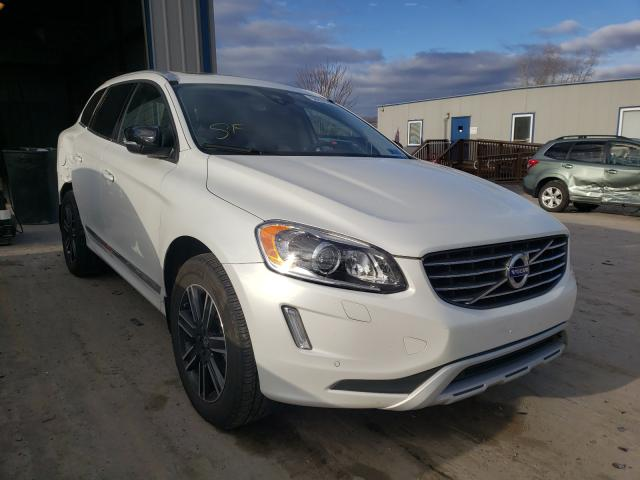 Salvage cars for sale from Copart Duryea, PA: 2017 Volvo XC60 T5 DY