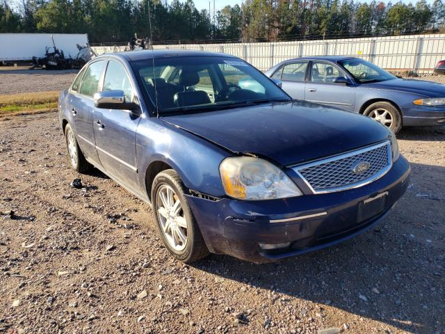 Salvage cars for sale from Copart Charles City, VA: 2005 Ford Five Hundr