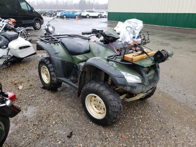 Salvage cars for sale from Copart Angola, NY: 2007 Honda TRX680 FA