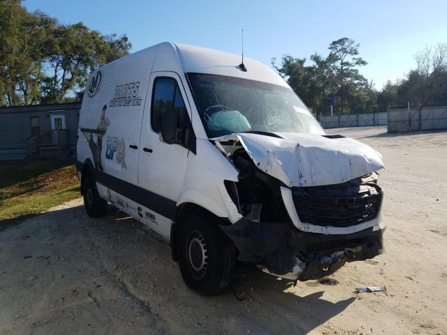 Salvage cars for sale from Copart Ocala, FL: 2018 Freightliner Sprinter 2