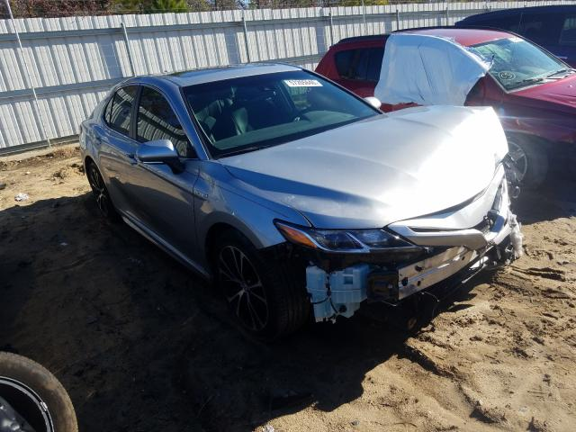 Salvage cars for sale from Copart Gaston, SC: 2018 Toyota Camry Hybrid