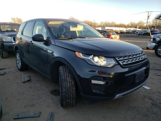 Land Rover Discovery salvage cars for sale: 2015 Land Rover Discovery