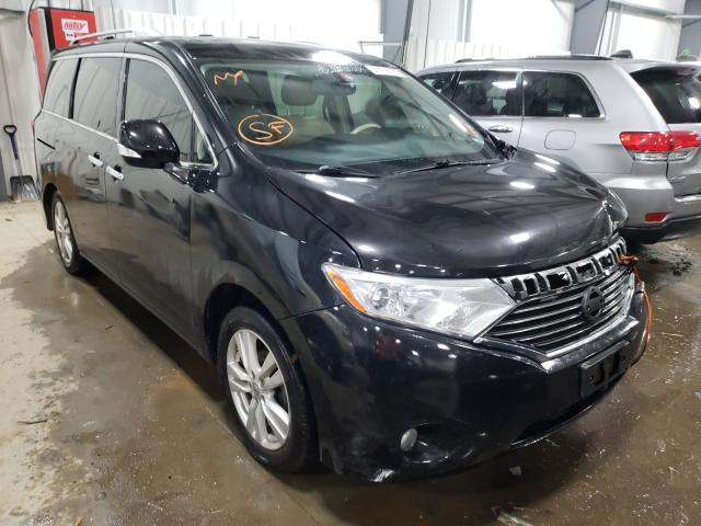 Nissan Quest salvage cars for sale: 2012 Nissan Quest
