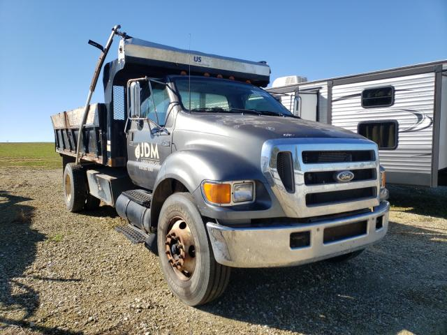 Salvage cars for sale from Copart Newton, AL: 2006 Ford F750 Super