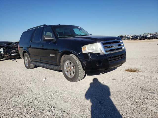 Salvage cars for sale from Copart San Antonio, TX: 2008 Ford Expedition