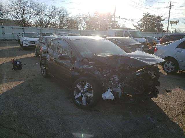 Salvage cars for sale from Copart Moraine, OH: 2018 KIA Forte LX