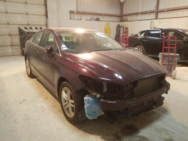 Salvage cars for sale from Copart Abilene, TX: 2018 Ford Fusion SE