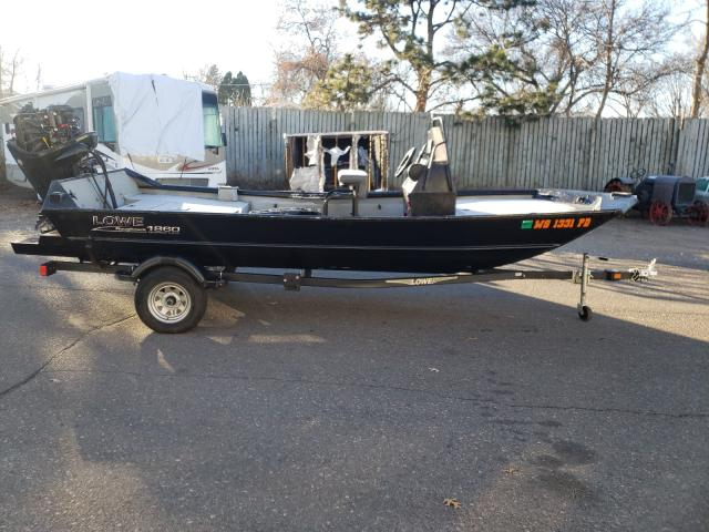 Lowe salvage cars for sale: 2020 Lowe Boat With Trailer