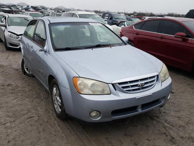 KIA salvage cars for sale: 2004 KIA Spectra LX