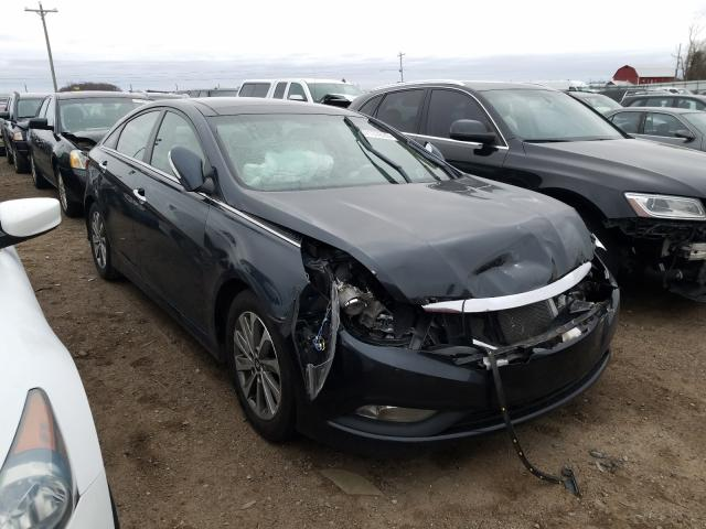 Salvage cars for sale from Copart Portland, MI: 2014 Hyundai Sonata SE