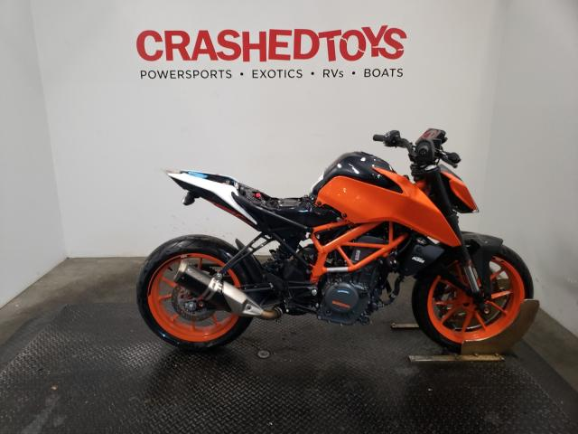 KTM 390 Duke salvage cars for sale: 2019 KTM 390 Duke