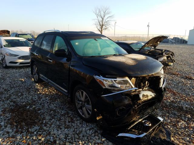 Salvage cars for sale from Copart Cicero, IN: 2014 Nissan Pathfinder
