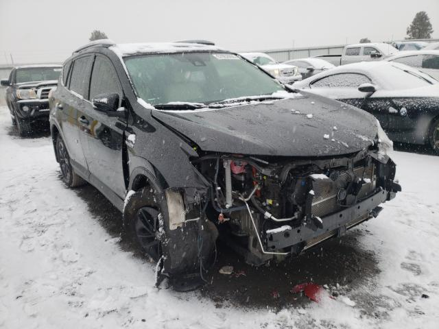 Salvage cars for sale from Copart Airway Heights, WA: 2018 Toyota Rav4 HV LE