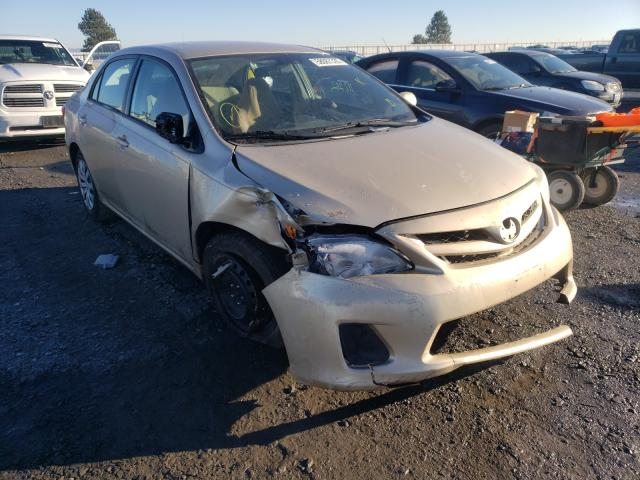 Salvage cars for sale from Copart Airway Heights, WA: 2012 Toyota Corolla BA