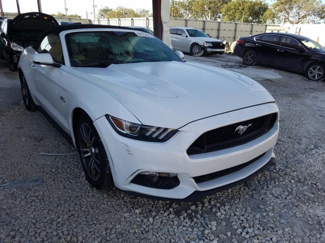 Salvage cars for sale from Copart Homestead, FL: 2017 Ford Mustang GT