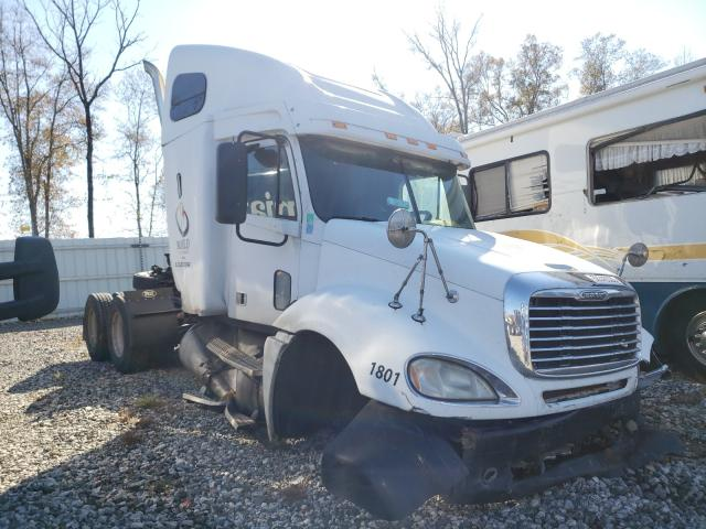 Salvage cars for sale from Copart Spartanburg, SC: 2007 Freightliner Convention