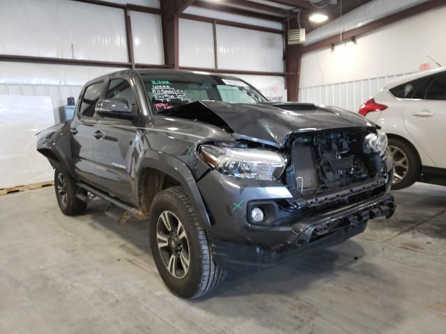 Salvage cars for sale from Copart Byron, GA: 2017 Toyota Tacoma DOU