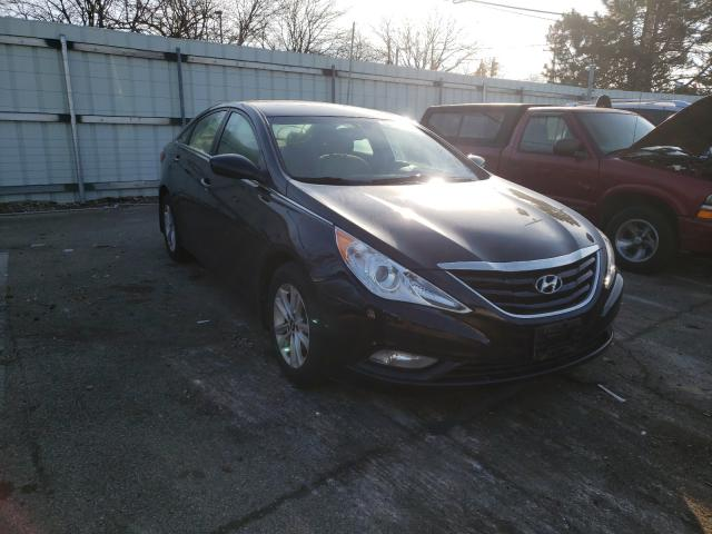 Salvage cars for sale from Copart Moraine, OH: 2013 Hyundai Sonata GLS