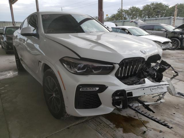 Salvage cars for sale from Copart Homestead, FL: 2020 BMW X6 Sdrive