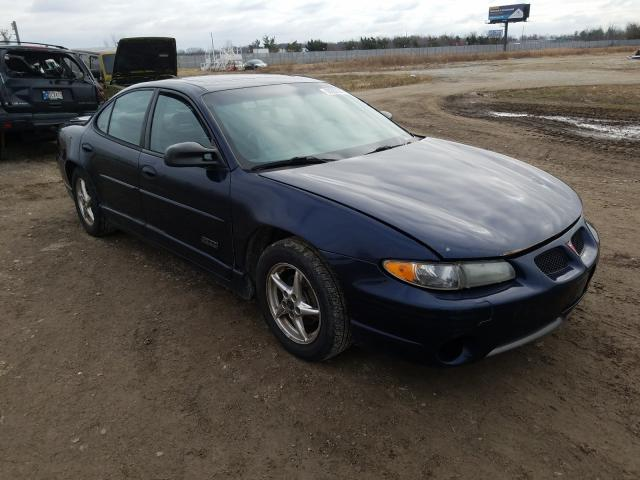 Salvage cars for sale from Copart Cicero, IN: 2002 Pontiac Grand Prix
