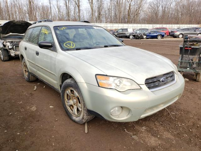 Subaru salvage cars for sale: 2007 Subaru Legacy Outback