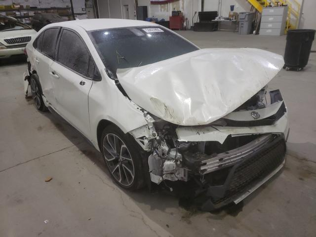 Salvage cars for sale from Copart Reno, NV: 2020 Toyota Corolla SE
