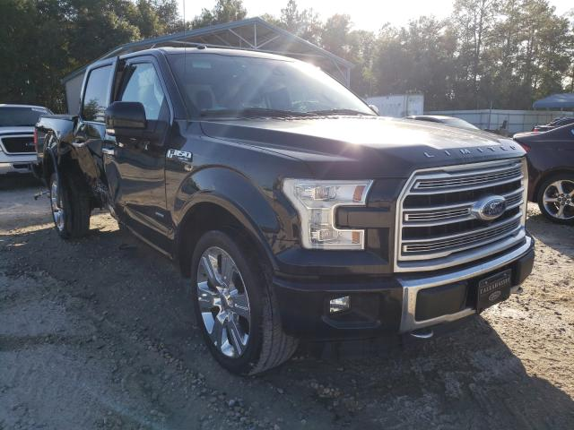 Salvage cars for sale from Copart Midway, FL: 2016 Ford F150 Super
