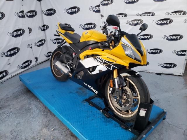 Salvage cars for sale from Copart Anthony, TX: 2016 Yamaha YZFR6
