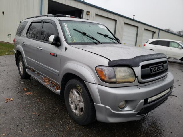 Toyota Sequoia LI salvage cars for sale: 2001 Toyota Sequoia LI