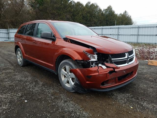 Salvage cars for sale from Copart London, ON: 2014 Dodge Journey SE
