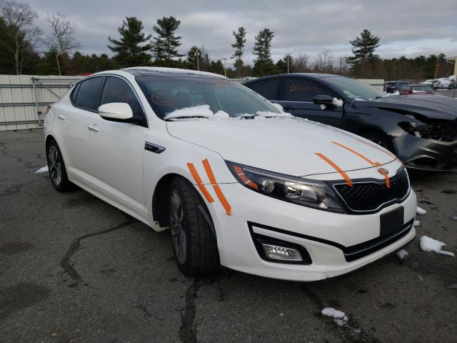 Salvage cars for sale from Copart Exeter, RI: 2014 KIA Optima SX