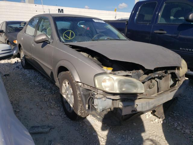 Nissan salvage cars for sale: 2000 Nissan Maxima GLE