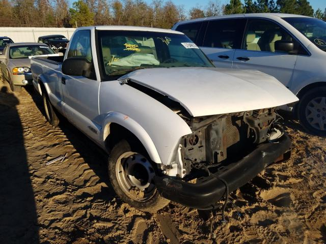 Salvage cars for sale from Copart Gaston, SC: 2002 Chevrolet S Truck S1