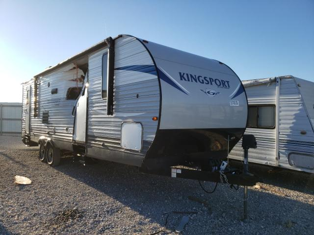 Salvage cars for sale from Copart Haslet, TX: 2018 Kingdom Trailer