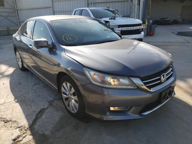 Salvage cars for sale from Copart Corpus Christi, TX: 2013 Honda Accord EXL