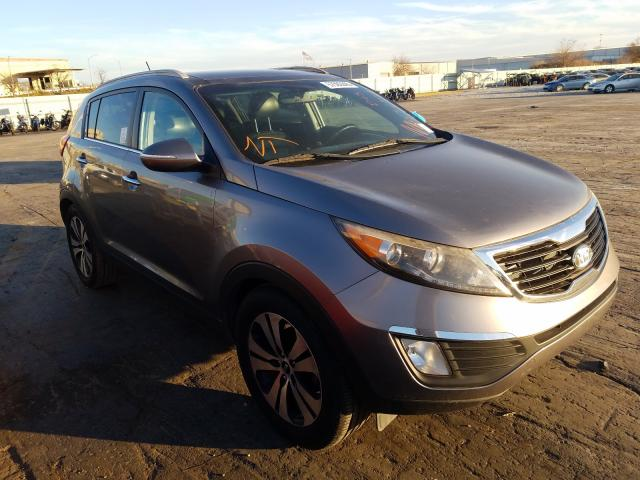 Salvage cars for sale from Copart Tulsa, OK: 2012 KIA Sportage E
