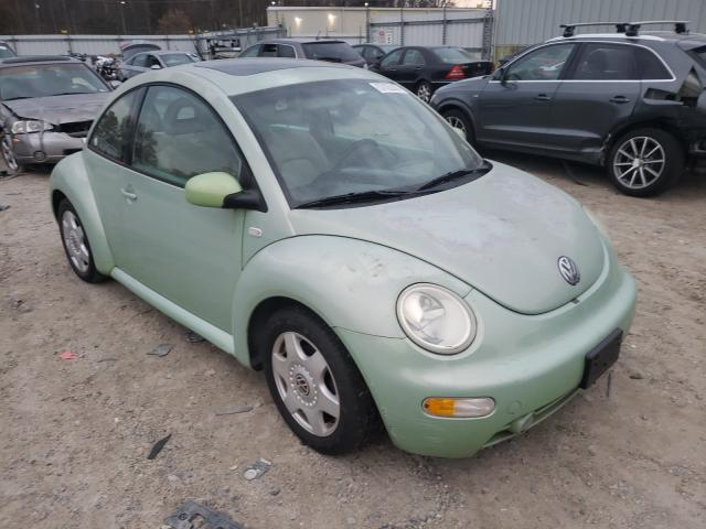 Salvage cars for sale from Copart Hampton, VA: 2001 Volkswagen New Beetle