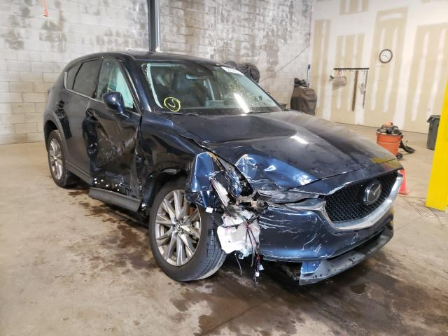 Salvage cars for sale from Copart Chalfont, PA: 2019 Mazda CX-5 Grand Touring
