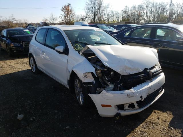 Salvage cars for sale from Copart Baltimore, MD: 2012 Volkswagen Golf