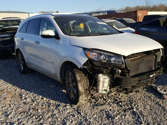 Salvage cars for sale from Copart Hueytown, AL: 2017 KIA Sorento SX