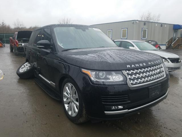 Salvage cars for sale from Copart Duryea, PA: 2015 Land Rover Range Rover